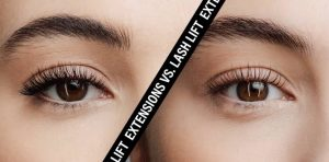 Lash lift vs Lash extensions